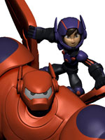big hero 6 Baymax Hiro disney infinity 2.0
