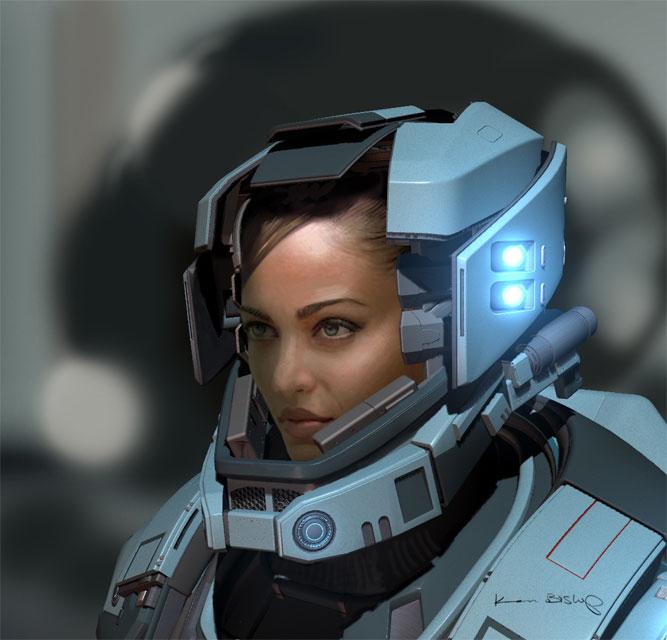 girl in astronaut helmet - photo #13