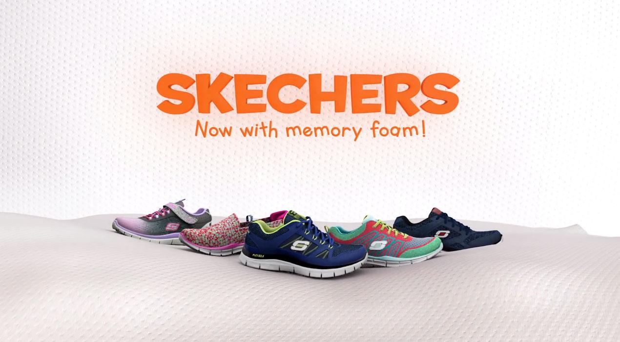 Sketchers Kids Shoes Spots
